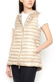 HERNO asymmetrical vest