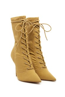 YEEZY lace up boots
