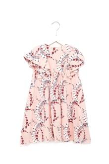 FENDI KIDS blosson dress