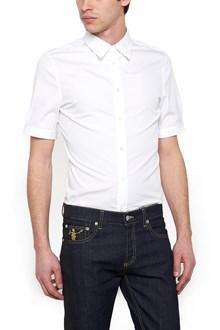 ALEXANDER MCQUEEN embroidered collar shirt