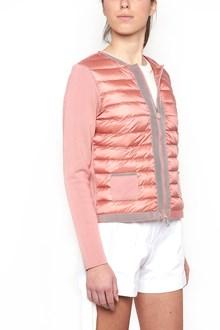 MONCLER bimaterial down jacket