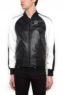 GIVENCHY emrboidered star bomber jacket