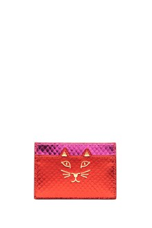 CHARLOTTE OLYMPIA 'kitty' cardholder