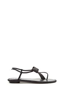 RENÉ CAOVILLA swarowsky bow sandals