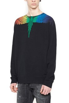 MARCELO BURLON - COUNTY OF MILAN 'raimbow wing' sweatshirt