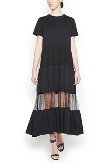 REDVALENTINO 'point d'esprit' long dress