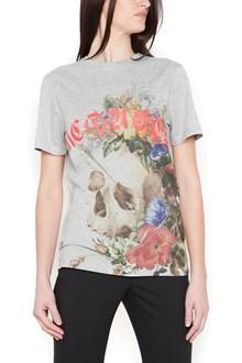 ALEXANDER MCQUEEN skull & logo t-shirt