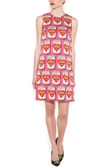 DOLCE & GABBANA printed love can dress