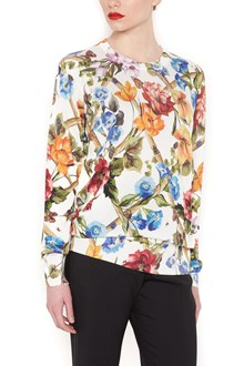 DOLCE & GABBANA flowers sweater