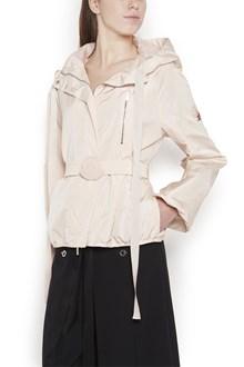 MONCLER GAMME ROUGE waistbelt bomber jacket