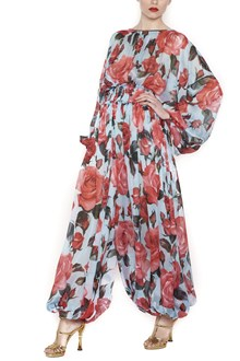 DOLCE & GABBANA printed roses jumpsuits