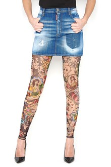 DSQUARED2 'tatoo' leggings