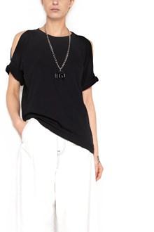 MM6 BY MAISON MARGIELA cut out shoulders t-shirt