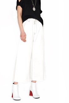 MM6 BY MAISON MARGIELA contrasting stitching pants