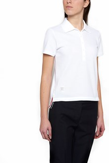 THOM BROWNE relaxed fit polo