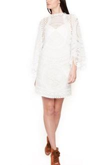 CHLOÉ 'circular tablecloth lace' dress