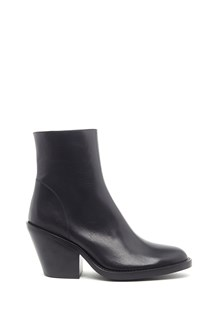 ANN DEMEULEMEESTER stivaletto tacco grosso