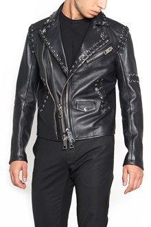 LES HOMMES lace-up jacket