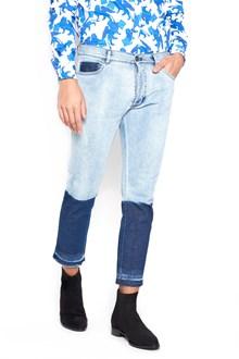 CHRISTIAN PELLIZZARI biclor jeans