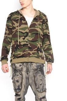 FAITH CONNEXION camouflage hoodie