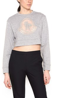 MONCLER GAMME ROUGE maxi logo sweatshirt