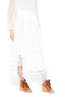 CHLOÉ 'circular tablecloth lace' skirt