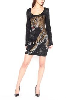 PHILIPP PLEIN swarowsky tiger dress
