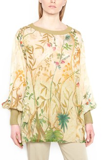 ALBERTA FERRETTI all over printed blouse