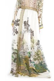 ALBERTA FERRETTI esotic print skirt