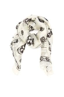 ALEXANDER MCQUEEN skull foulard