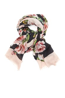 DOLCE & GABBANA roses foulard