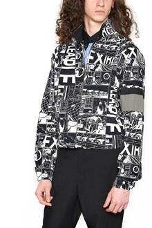 PRADA LINEA ROSSA 'comics' bomber jacket