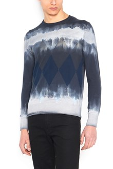 BALLANTYNE 'dyamond tie dye' sweater