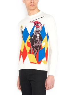 BALLANTYNE 'dyamond ascot' sweater