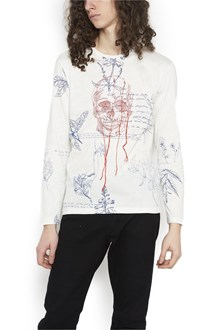 ALEXANDER MCQUEEN embroidered skull t-shirt