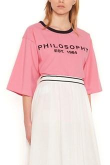 PHILOSOPHY DI LORENZO SERAFINI t-shirt logo