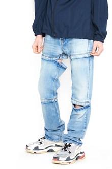 BALENCIAGA three lengths jeans