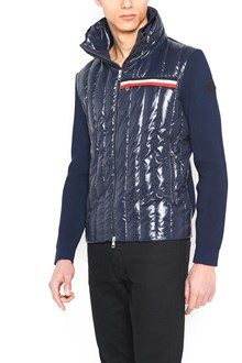 MONCLER bimaterial hoodie