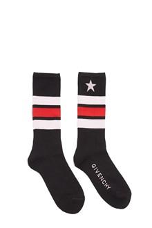 GIVENCHY intarsia star socks