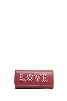 FENDI 'love' wallet with chain