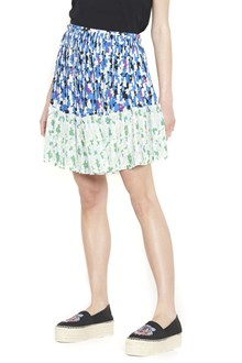 KENZO pleated mini skirt
