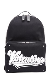 VALENTINO GARAVANI patch logo backpack