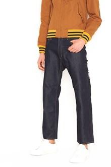 JUNYA WATANABE collab. north face jeans