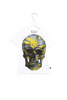 PHILIPP PLEIN JUNIOR t-shirt 'the truth'