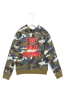 GIVENCHY 'only speek givenchy' hoodie