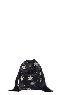 ATTICO embroidered stars clutch