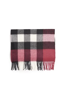 BURBERRY 'half mega check' scarf