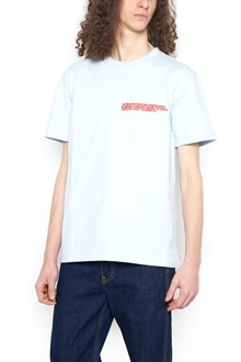 CALVIN KLEIN 205 W39 NYC embroidered logo t-shirt