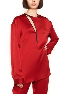 HAIDER ACKERMANN cut out details blouse
