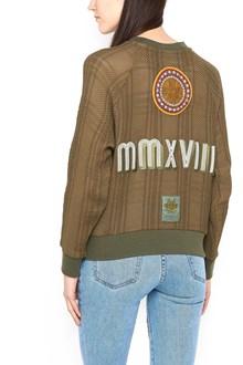 MR & MRS ITALY patch sweatshirt